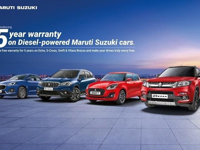 Maruti Suzuki Swift, Dzire, Vitara Brezza, S-Cross diesels get 5-year warranty