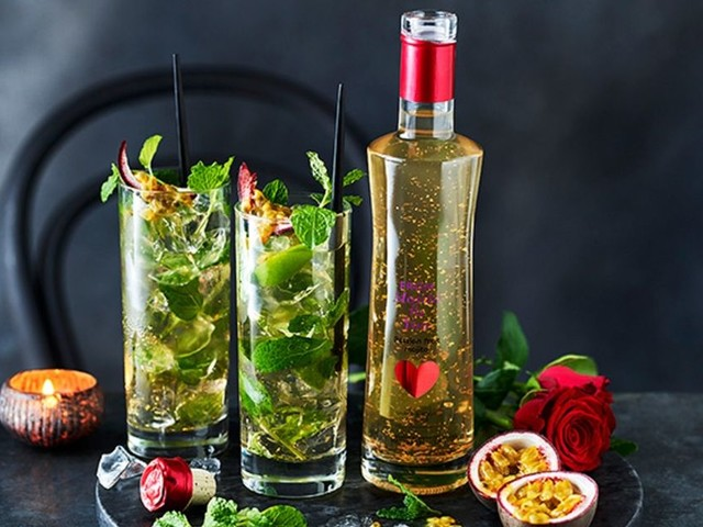 M&S sells £12 gold leaf cocktail to add some sparkle to Valentine's Day