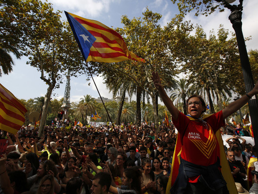"Catalan independence: 'Ireland came into being as a result of a similar ""illegal"" action'"
