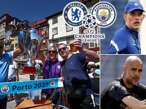 Manchester City vs Chelsea - Champions League final: LIVE build-up, lineups and updates