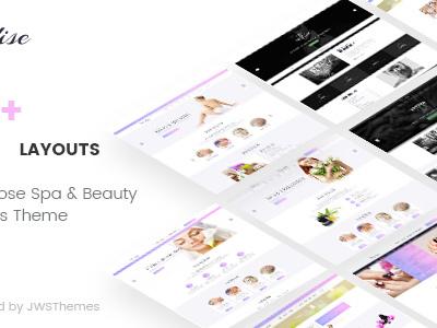 Paradise - Multipurpose Spa & Beauty WordPress Theme (Health & Beauty)