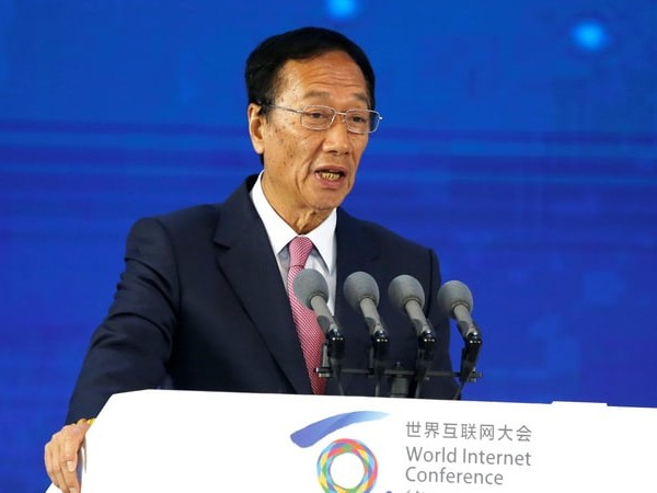 Foxconn Says Gou Will Remain Chairman, to Withdraw From Daily Operations