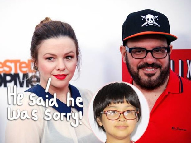 Amber Tamblyn Stands By Husband David Cross As The Comedian Scrambles To Defend His Allegedly Racist Actions Toward Charlyne Yi