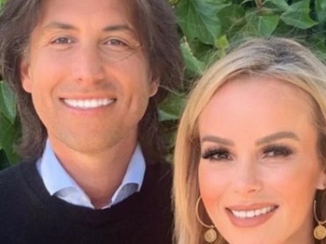 Amanda Holden shares rare snap of husband Chris as they enjoy date night