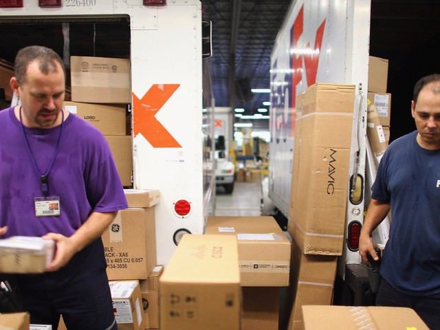 FedEx skyrockets 17% on surprise revenue beat and a slew of Wall Street upgrades (FDX)