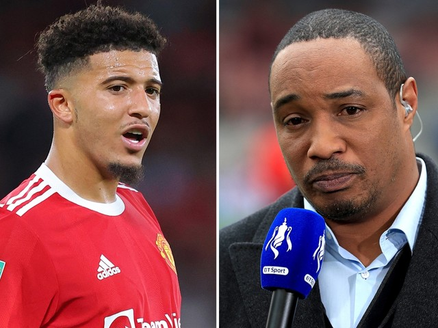 Man Utd legend Paul Ince slams showboating Jadon Sancho and rages 'this is not Fifa' amid early struggles for £73m star