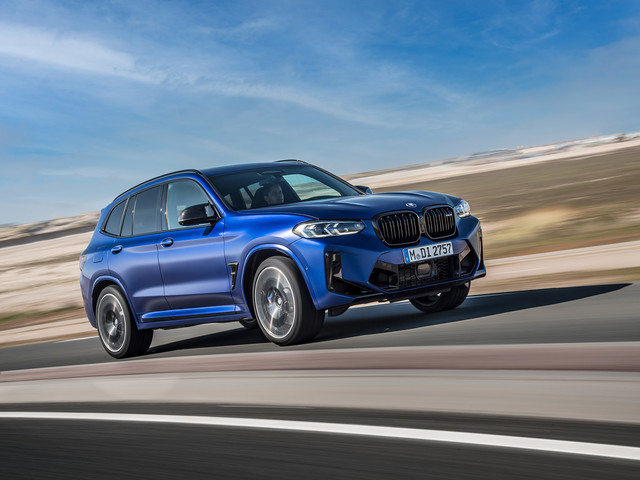 2021 BMW X3 and X4 facelift includes torque boost for M Competition models