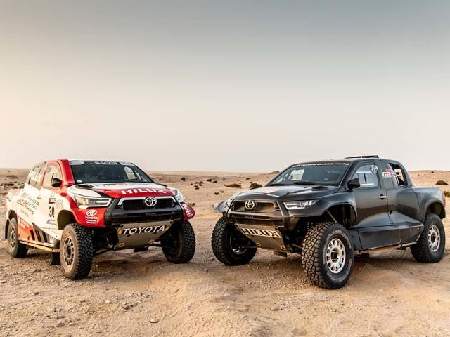 Toyota GR Hilux Off-Roader Revealed Ahead Of 2022 Dakar Rally