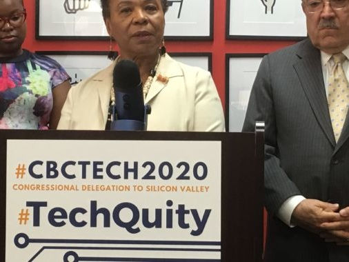 Black members of Congress push for more diversity in Silicon Valley hires