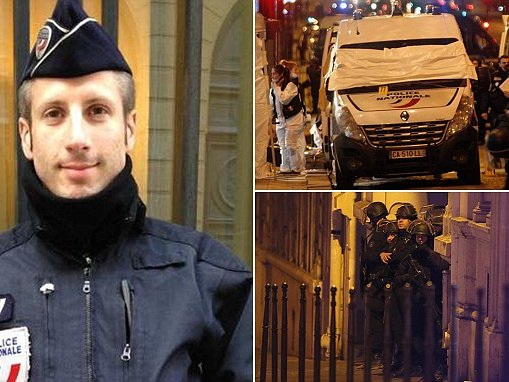 Paris policeman shot dead on the Champs-Elysees is named
