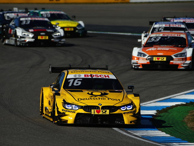 Pole position and podium for BMW driver Glock at Hockenheim