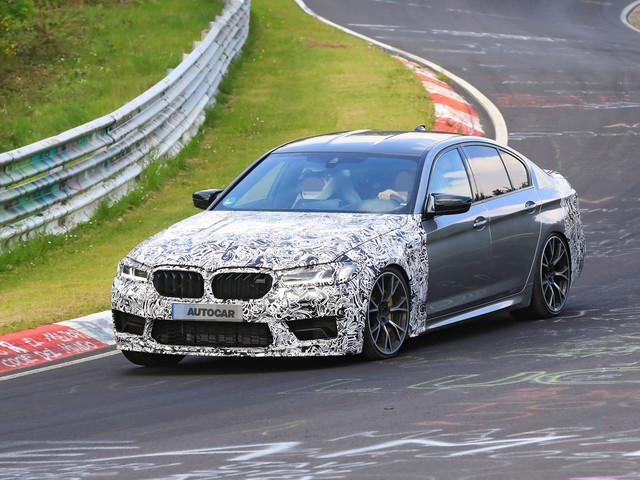 2021 BMW M5: Hardcore Clubsport version caught on video