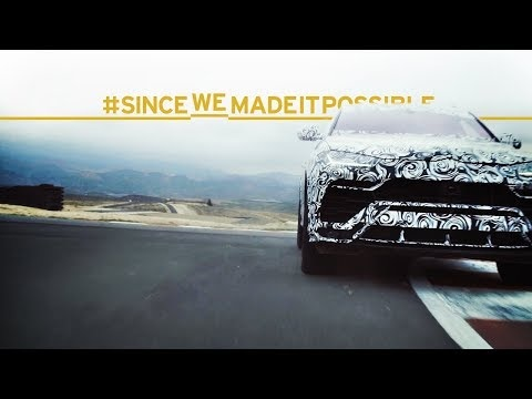 Lamborghini Urus: high-speed footage shows 48V active anti-roll system