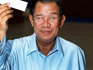 Cambodia's ruling party has sure lock on Senate election