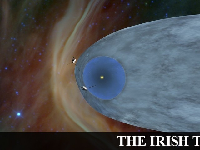 'Voyager 2' leaves Solar System 41 years after launch