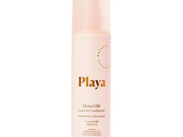 Milky Leave-In Conditioners - The Monoi Milk Leave-In Conditioner Spotlights a Tahitian Ingredient (TrendHunter.com)