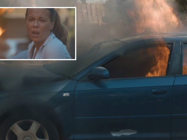 The Widow viewers gobsmacked as Emmanuel gets blown up in a car as THREE 'survivors' emerge in shock twist