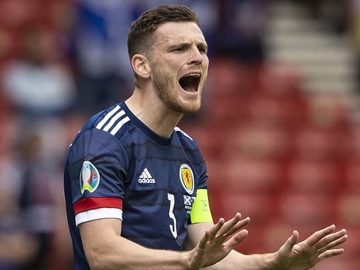 Euro 2020: Andy Robertson was Scotland's best player by a distance but Stephen O'Donnell struggled