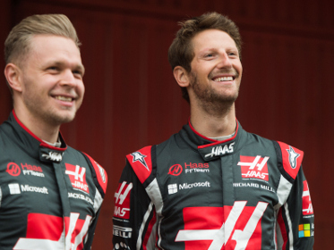 Haas F1 Team retains Kevin Magnussen and Romain Grosjean for 2018