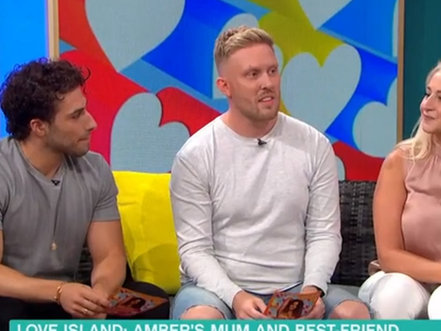 Love Island Amber's furious mum takes aim at Michael on This Morning