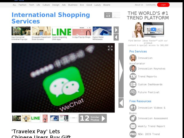 International Shopping Services - 'Travelex Pay' Lets Chinese Users
