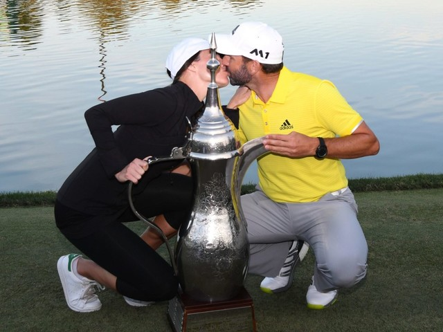 Who is Sergio Garcia's wife Angela Akins? How did former Masters champ meet Golf Channel reporter?