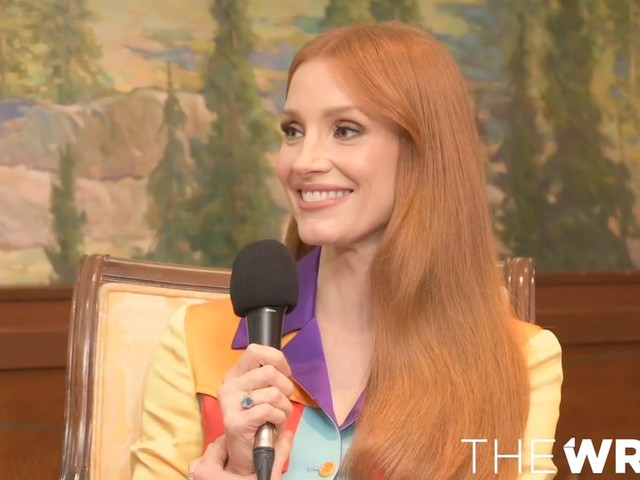 Why Jessica Chastain Was Afraid She'd Be 'Gobbled Up' by Hollywood (Video)