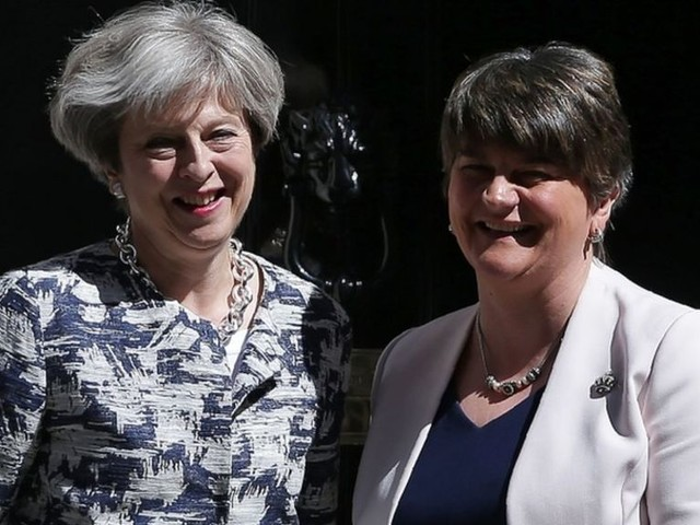 'No money for Scotland' through DUP deal