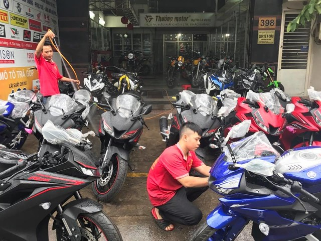 Yamaha R15 v3.0 retailed by multi-brand dealer in Vietnam