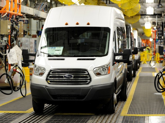 Ford Transit Production Stalled for One Week, F-150 Assembly Remains at Full Throttle