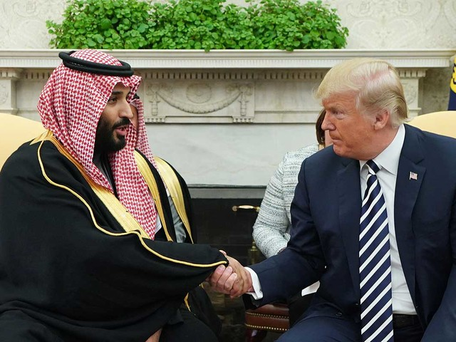 Why does the West sell arms to Saudi Arabia?