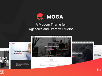 Moga - Creative Agency & Business WordPress Theme (Creative)