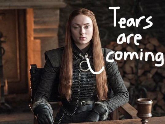 Sophie Turner Teases Lots Of 'Crying And Laughing' At Game Of Thrones Finale Table Read!