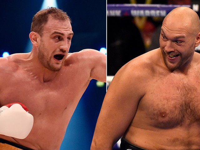 Tyson Fury vs Francesco Pianeta: Time and channel details ahead of the undercard fight on Carl Frampton vs Luke Jackson show