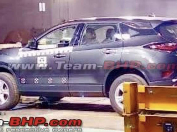Tata Harrier spied inside plant ahead of launch – Bookings open today at Rs 30k