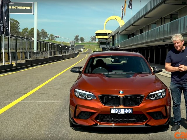 Video: BMW M2 Competition Reviewed on the Track in Australia