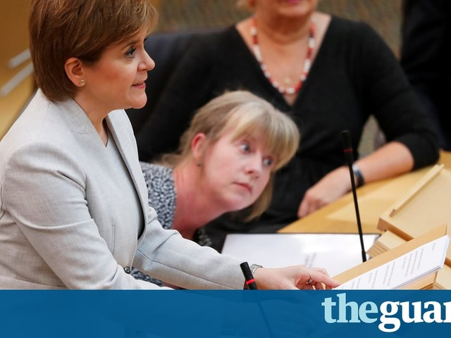 Sturgeon signals Scottish government will consider case for raising income tax - Politics live