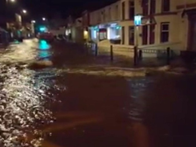 Travel disruptions follow flooding across north Wales