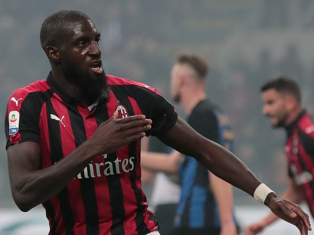 WATCH: Bakayoko scores his first goal for Milan in biggest derby of the season