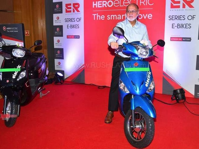Hero Optima ER, Nyx ER electric scooter launch price Rs 69k – 110 kms range