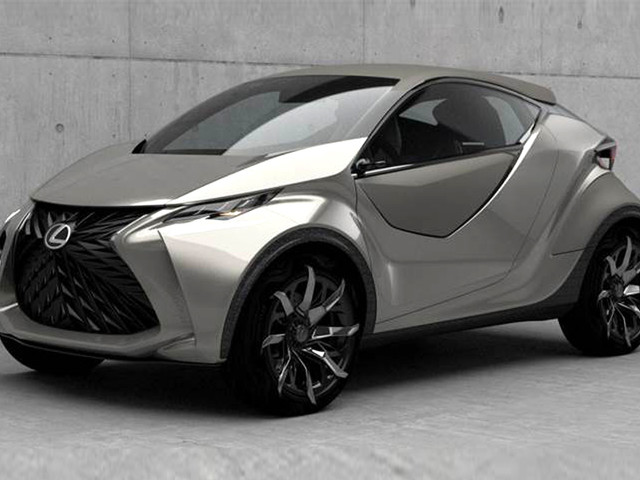 First all-electric Lexus to be an urban hatchback