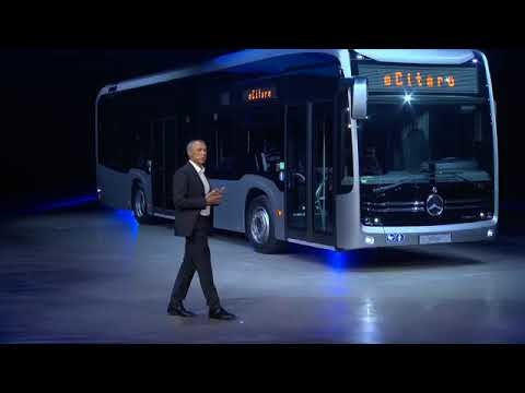 First customers order the Mercedes-Benz eCitaro bus, deliveries this year; solid-state batteries, fuel-cell range-extender coming