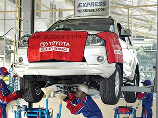 Toyota introduces T-Serv service initiative with multi-brand workshops