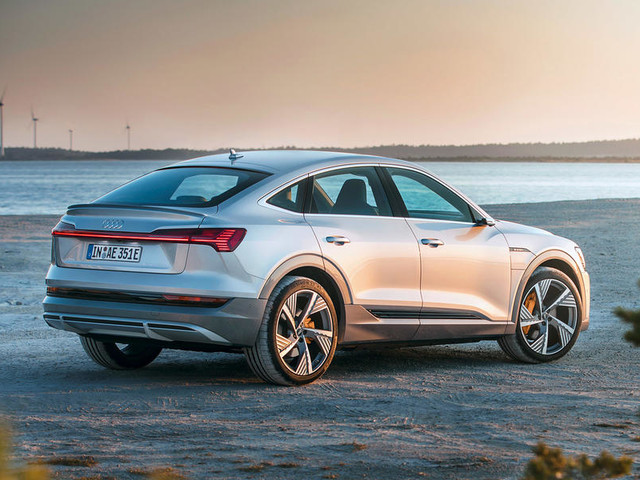 Audi E-tron Sportback revealed as electric coupe SUV