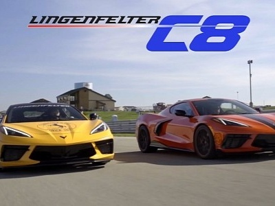 Lingenfelter C8 Corvette Previewed on the Track, Launching November 9th