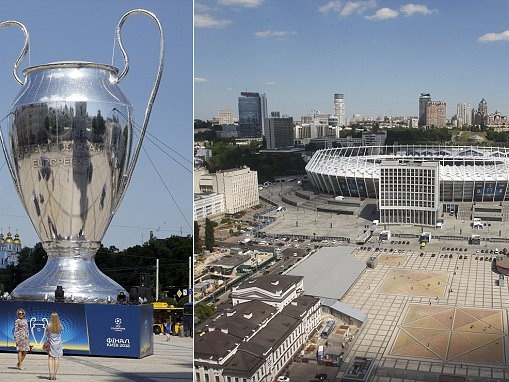 Champions League final excitement hots up in Kiev