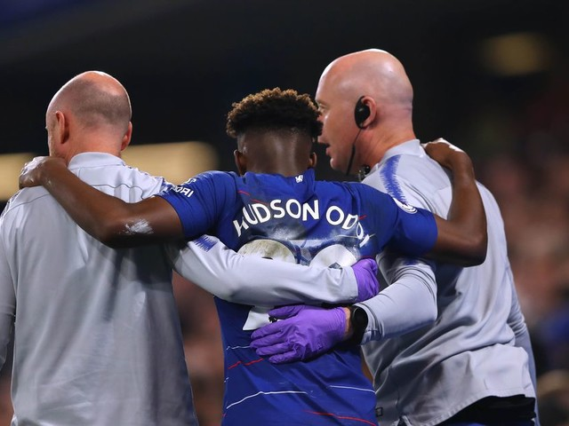Hudson-Odoi recovery 'going well', hoping to be back on the pitch 'soon'