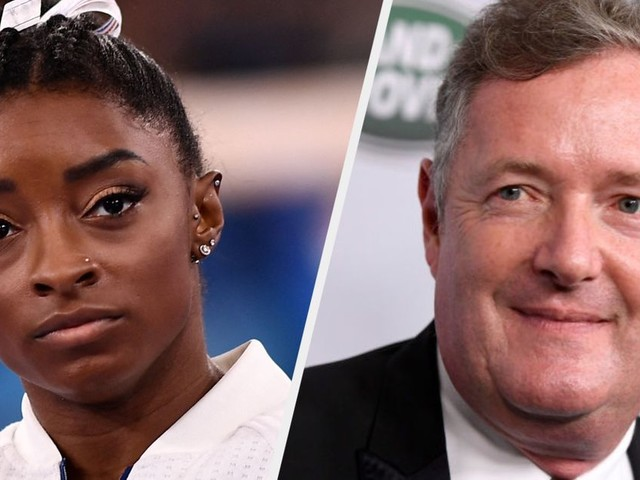 Piers Morgan Trashes Simone Biles' Mental Health Stance In Separate Rants