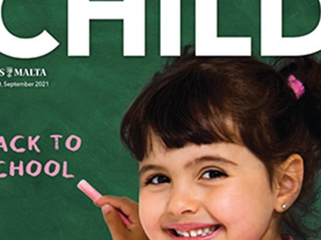 Child returns with special school edition