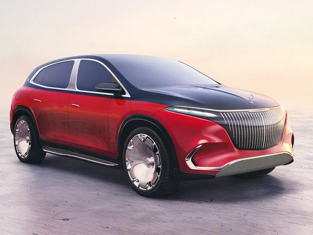 Mercedes-Maybach EQS SUV starts luxury brand's EV rebirth